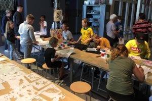 Museumfabriek Thuis@ Ontmoetingsclusters Enschede