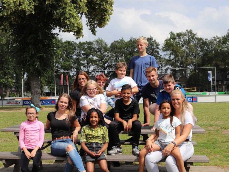 Kinderen en begeleiders Thuis@Rigtersbleek