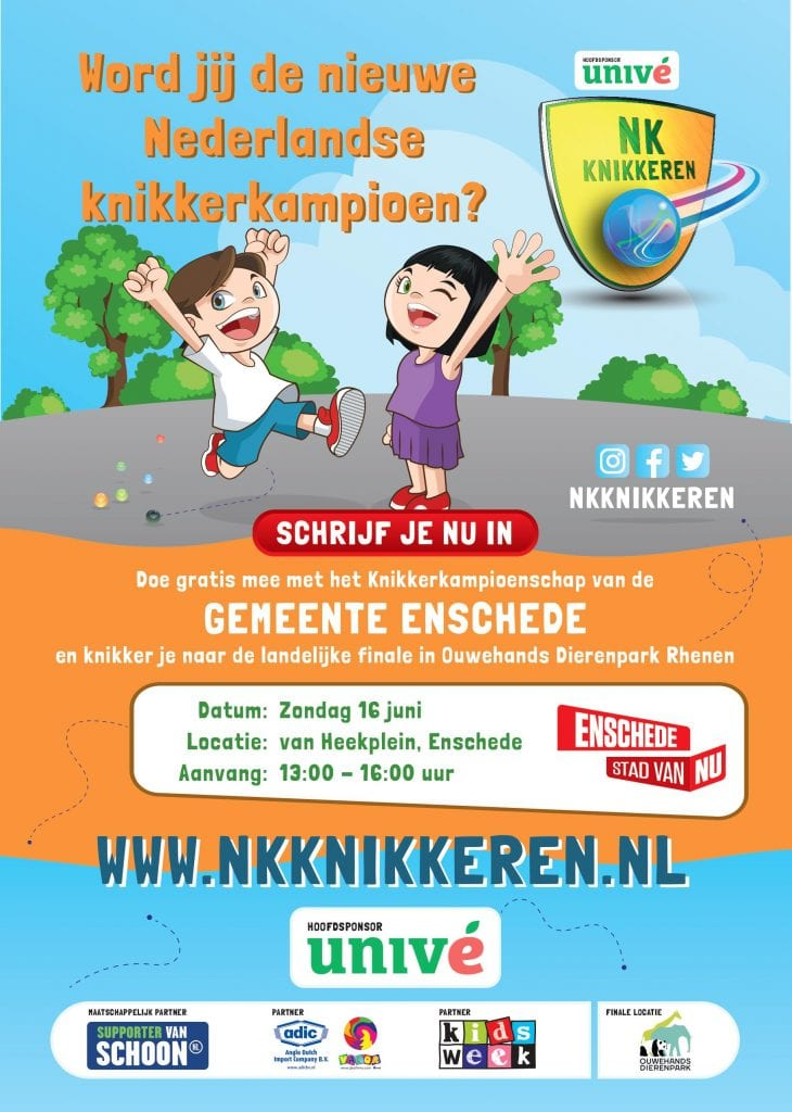 NKK 2019 flyer, Gemeente Enschede