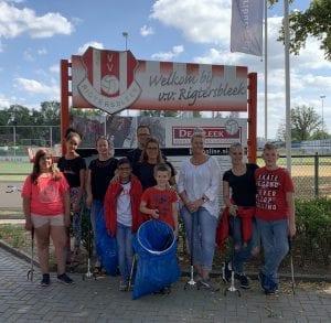 Groepsfoto Afvalproject Thuis@ (1 juli 2019)