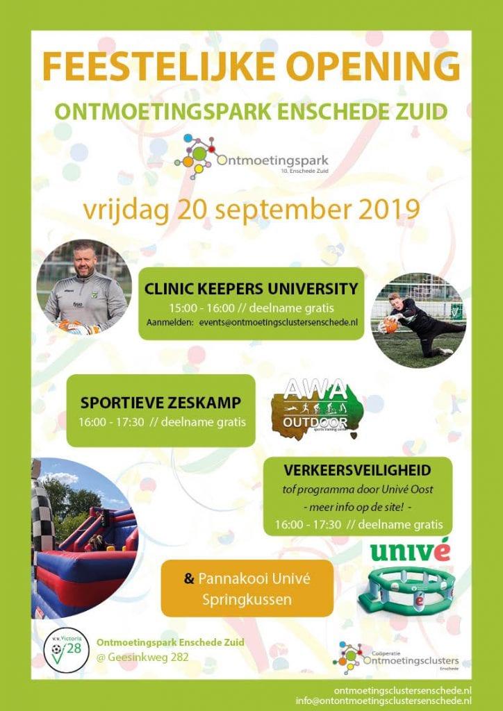 Opening Ontmoetingspark Enschede Zuid - nieuw