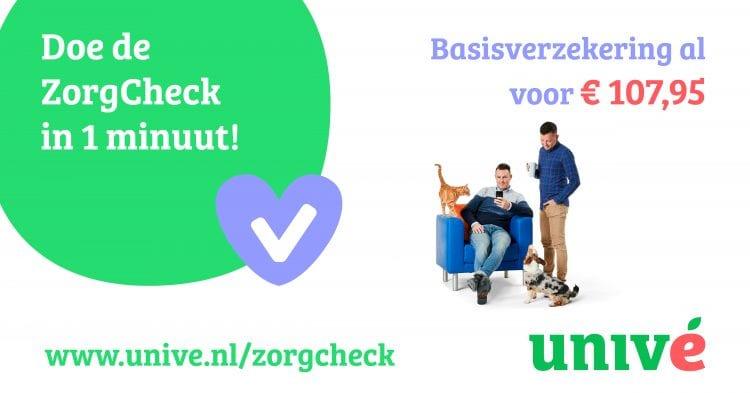 Univé Zorgcheck