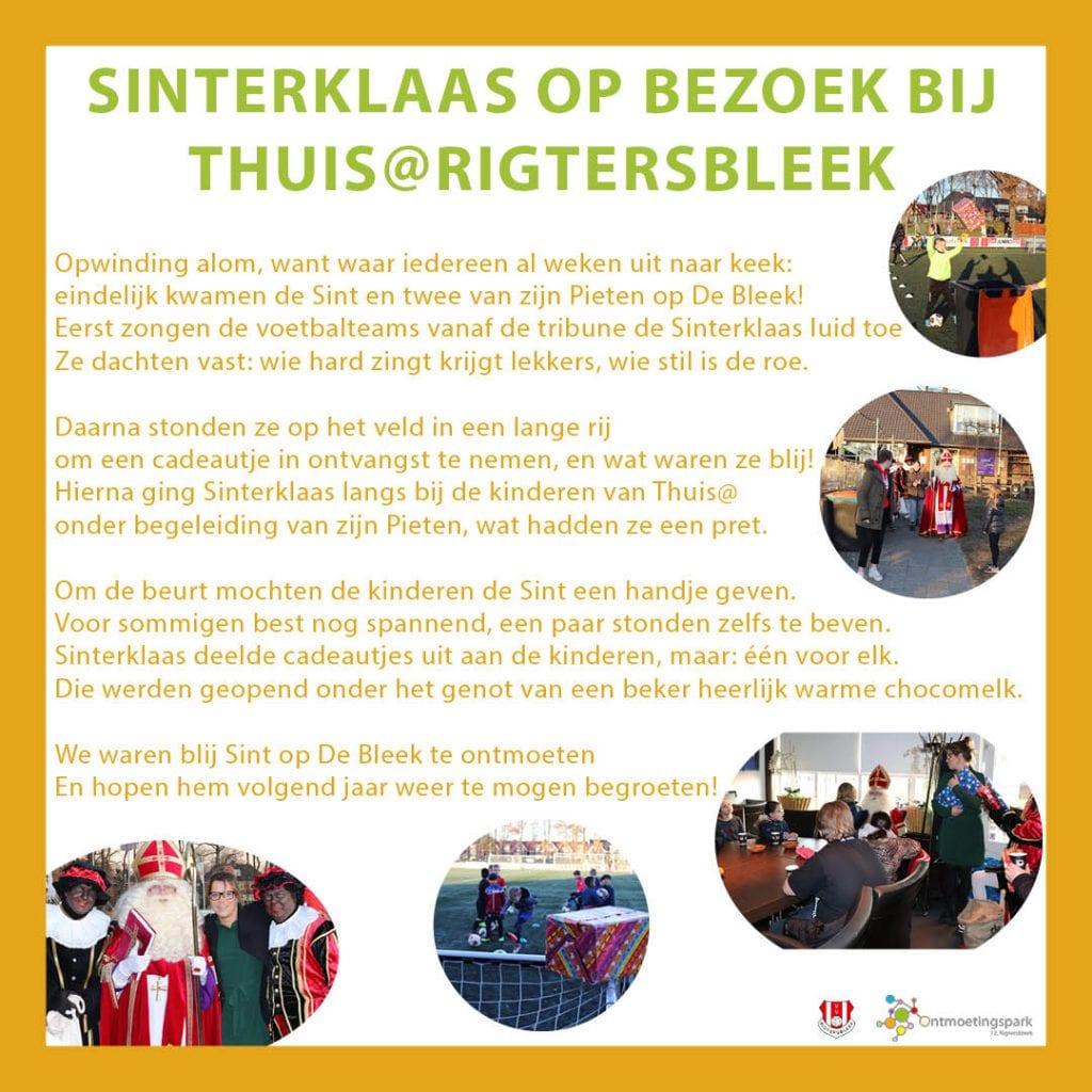 Siniterklaas Thuis@Rigtersbleek 2019
