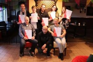 Diploma-uitreiking BBL-Entreeopleiding