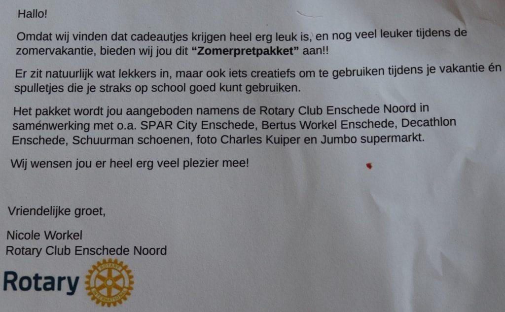 Zomerpakket rotaryclub Thuis@ [10-8-2020] 1